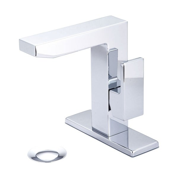 Shop Mod Single Handle Bath Faucet with Deck Plate - Free Shipping Today - Overstock.com - 21121567