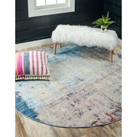 Jill Zarin Greenwich Village Downtown Round Rug - 8' x 8'
