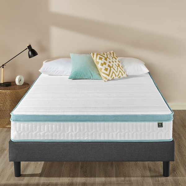 Priage by Zinus 10 inch Memory Foam Green Tea Hybrid Spring Mattress