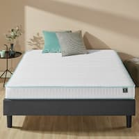 Priage 6-inch Memory Foam Green Tea Hybrid Spring Mattress, Twin