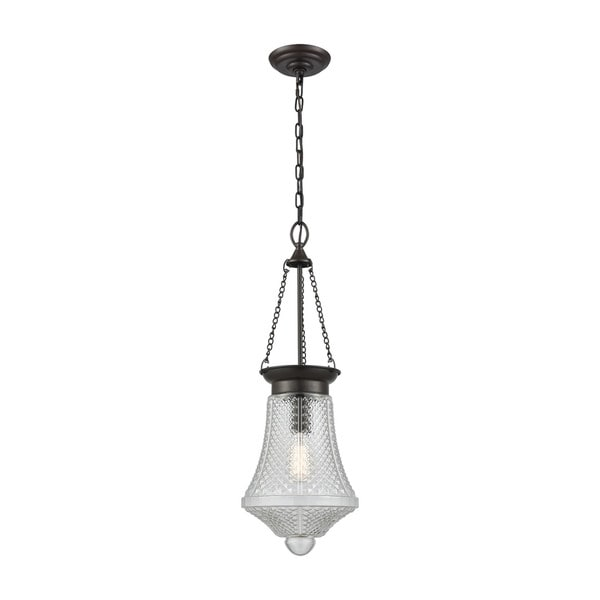 Victoriana 1-Light Pendant, Oil Rubbed Bronze