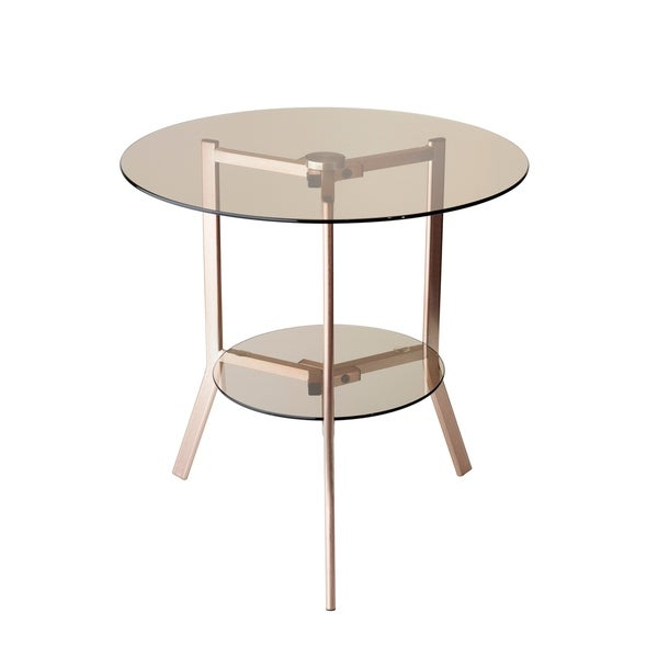 Shop Adesso Gibson End Table Free Shipping Today Overstock Com