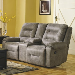 Copper Grove Odessa Reclining Loveseat with Center Console