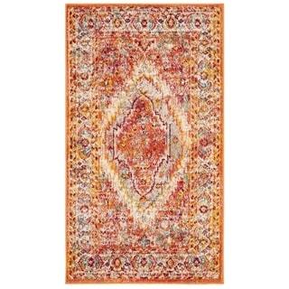 Safavieh Savannah Lamiaa Boho Oriental Polyester Rug (3 x 5 - Orange)