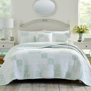 Laura Ashley Rowen Green Quilt