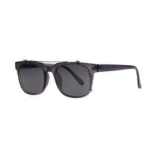 Anarchy Unify Men's Grey Frame with Mirrored Lens Sunglasses