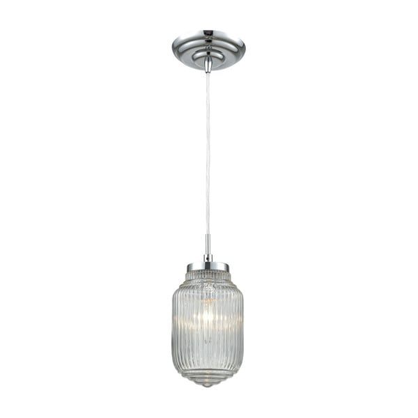 Dubois 1-Light Pendant, Polished Chrome