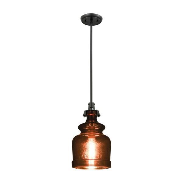 Sheffield 1-Light Pendant, Oil Rubbed Bronze
