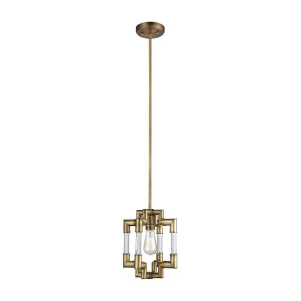Brandon 1-Light Pendant, Classic Brass