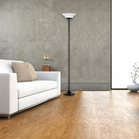 "Hale 72"" 15W Matte Black Integrated LED Floor Lamp"