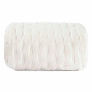 Vera Wang Luster Cotton Sateen Natural Coverlet