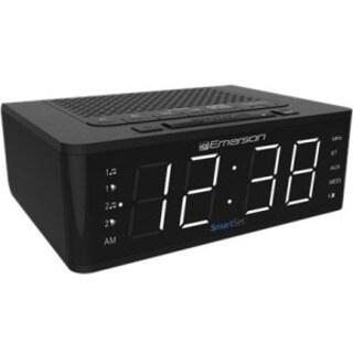 EMERSON RADIO CORP. ER100102 SMARTSET PLL RADIO ALARM CLOCK