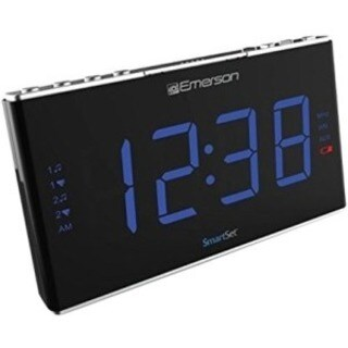 Emerson SmartSet ER100105 Clock Radio