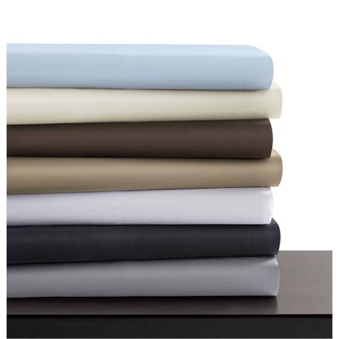 Egyptian Cotton Sateen 600 Thread Count Oversized Duvet Cover Set