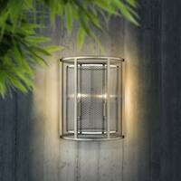 Eglo Verona Wall Light with Brushed Nickel Finish