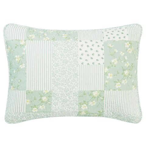 Laura Ashley Rowen Quilted Standard Sham
