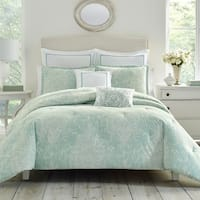 Laura Ashley Maddox Blue Bonus Comforter Set