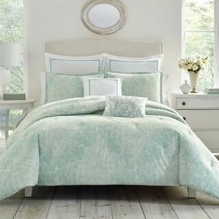 Laura Ashley Maddox Blue Bonus Comforter Set