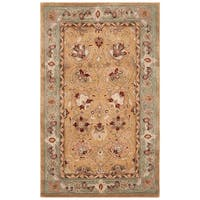 Safavieh Hand-Hooked Total Performance Traditional Copper / Moss Rug - 3' x 5'