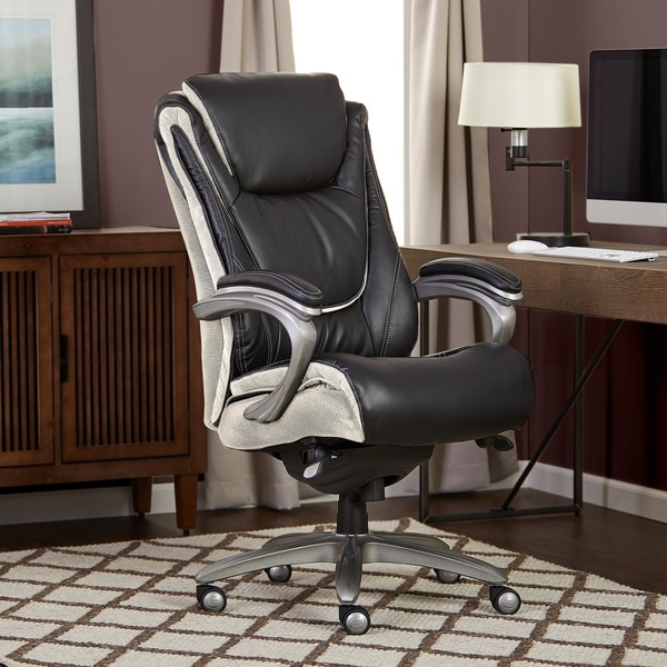 Shop Serta Big Tall Smart Layers Executive Office Chair Innovate
