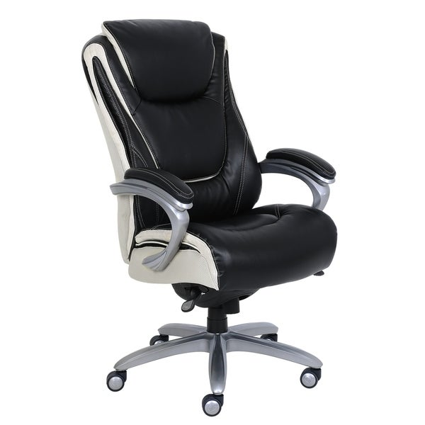 Serta® Big U0026amp; Tall™ Smart Layers™ Executive Office Chair   Innovate Black