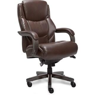 La-Z-Boy Delano Executive Office Chair in Chestnut Brown