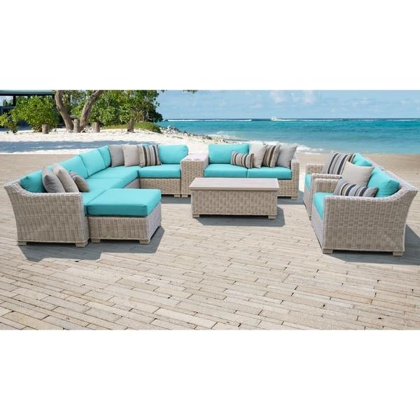 Bon Coast 12 Piece Outdoor Wicker Patio Furniture Set 12b