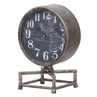 Metro Table Clock, 8x6x11inches