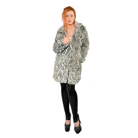 Hestin Victoria Faux Fur Short Coat