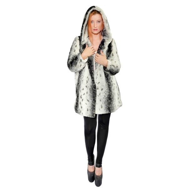 Hestin Citraka Faux Fur Short Coat