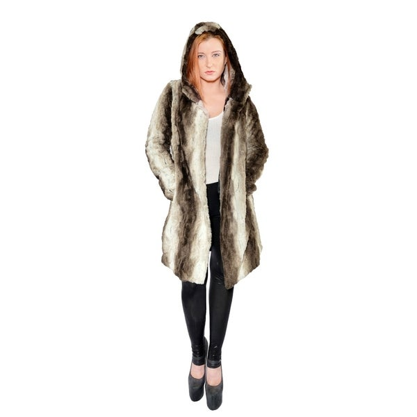 Hestin Claire Faux Fur Short Coat