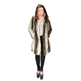 Hestin Claire Faux Fur Short Coat