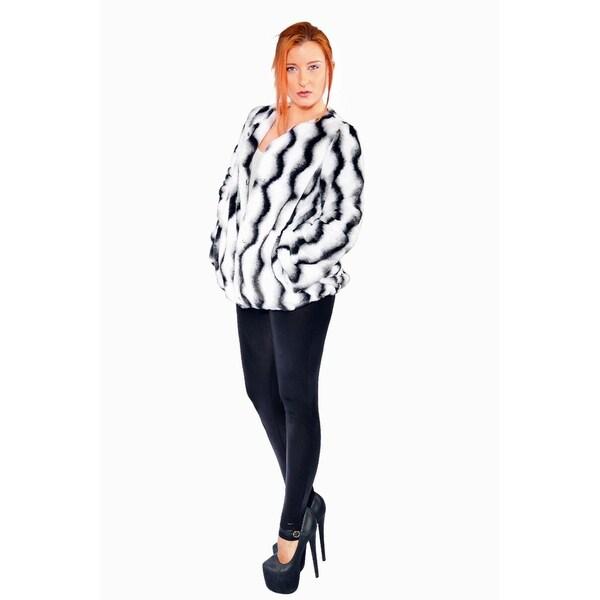 Hestin Irene Faux Fur Waist Coat
