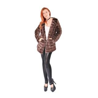 Hestin Super Mink Faux Fur Waist Coat