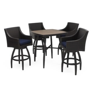 Deco 5pc Barstool Set in Navy Blue by RST Brands®