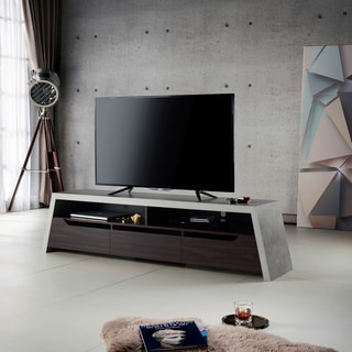 Furniture of America Zofi Industrial 70-inch Grey 3-drawer TV Stand