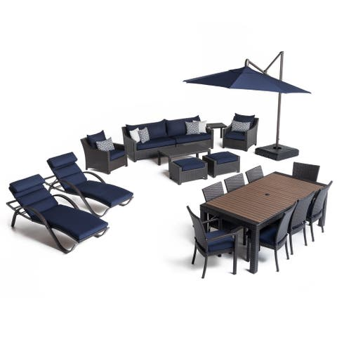 Deco 20pc Outdoor Estate Set in Navy Blue by RST Brands