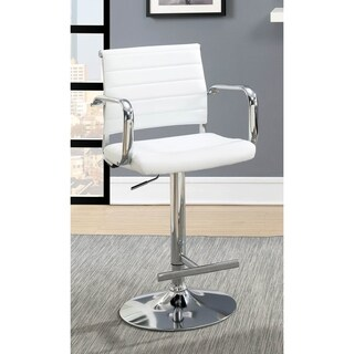 Furniture of America Morris Contemporary Faux Leather Bar Stool