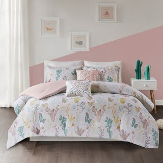 Urban Habitat Kids Cacti Red Multi Cotton Printed Comforter Set