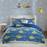 Urban Habitat Kids Marina Navy Cotton Printed Comforter Set