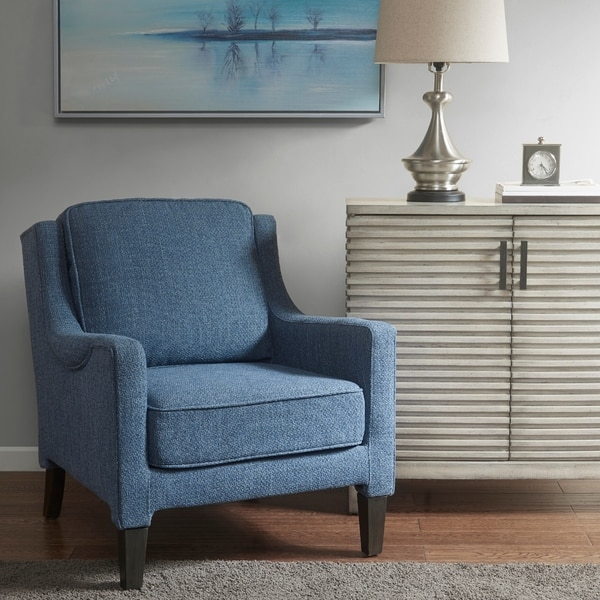 Shop Madison Park Signature Track Blue Accent Arm Chair