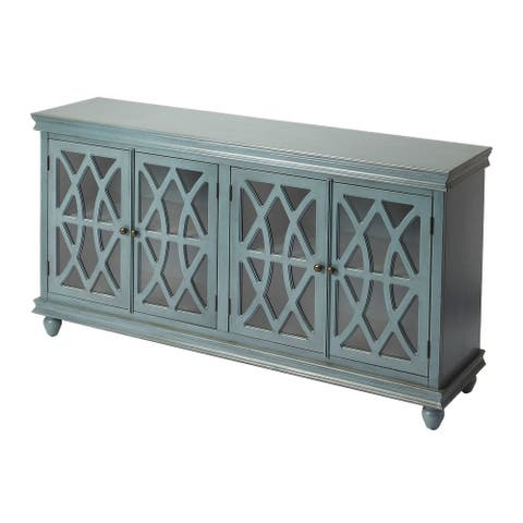 Butler Lansing Twilight Blue Rectangular Sideboard