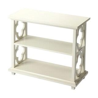 Butler Paloma Cottage White Rectangular Bookcase