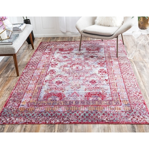 Shop Unique Loom Woodwind Aria Area Rug 13 X 16 5 Free Shipping