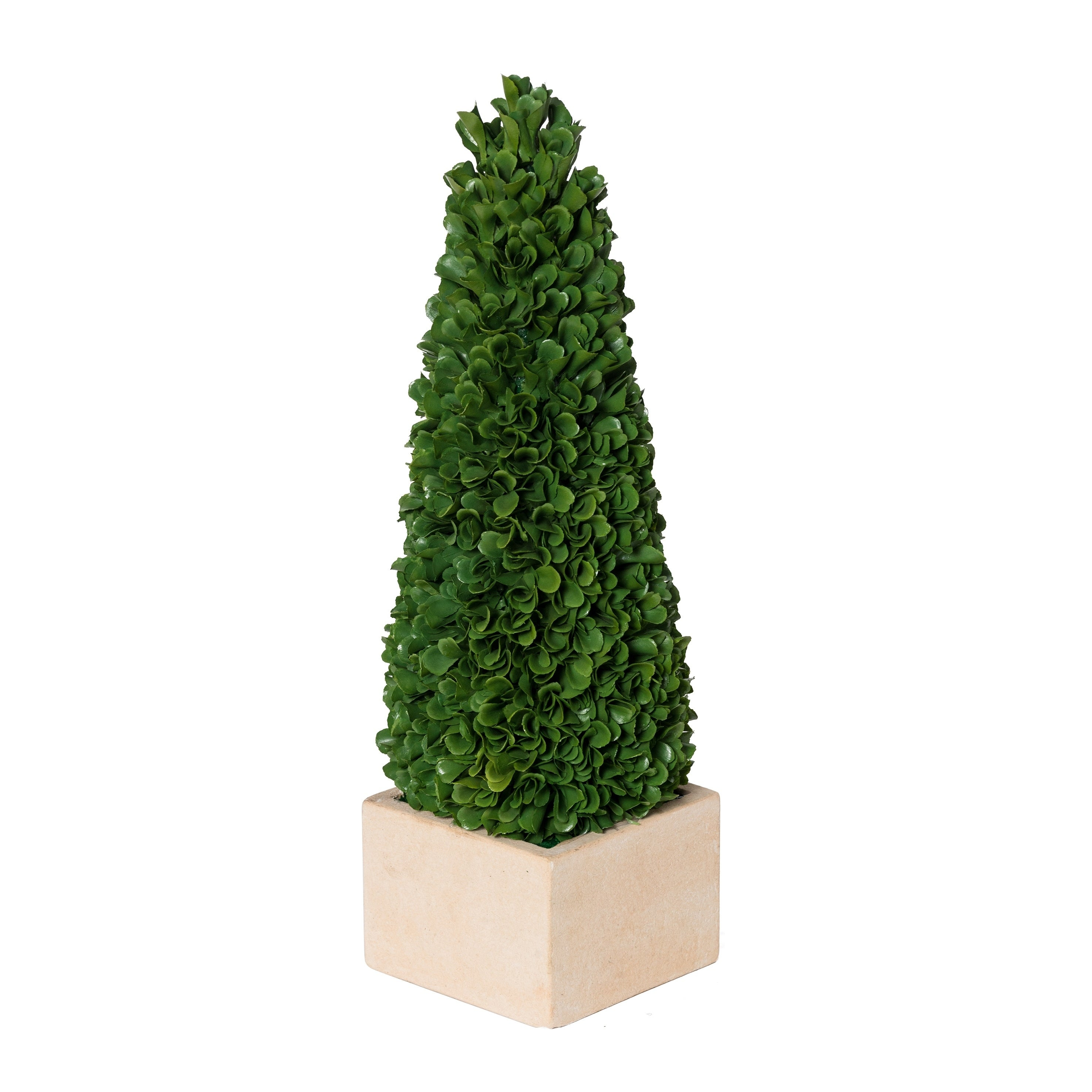 A B Home Faux Boxwood Potted Small Topiary Tree Green Overstock 21129132