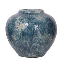 Firth Vase, Small-Blue, 10x9 inches