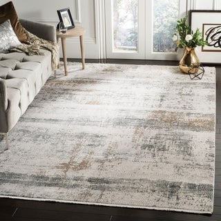 Safavieh Eclipse Modern & Contemporary Beige / Grey Rug (8' x 10')