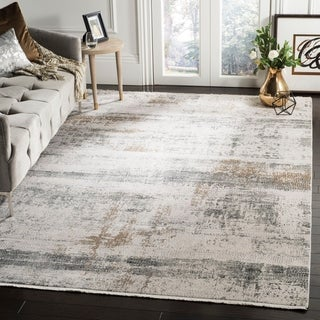 Safavieh Eclipse Danita Vintage Boho Abstract Viscose Rug with Fringe