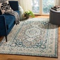 Safavieh Phoenix Traditional Grey / Blue Rug - 8' x 10'