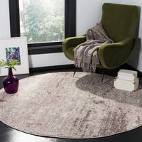Safavieh Adirondack Vintage Light Grey / Purple Rug - 6' x 6' Round